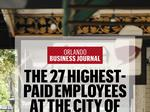 Public paychecks: Meet the 27 highest-paid employees with the city of Winter Park