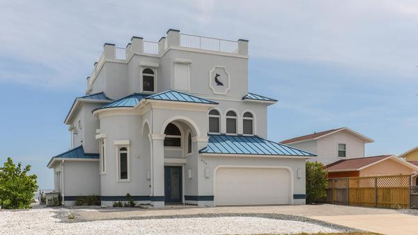 Oceanfront fortress in Ponce Inlet for $3,250,000