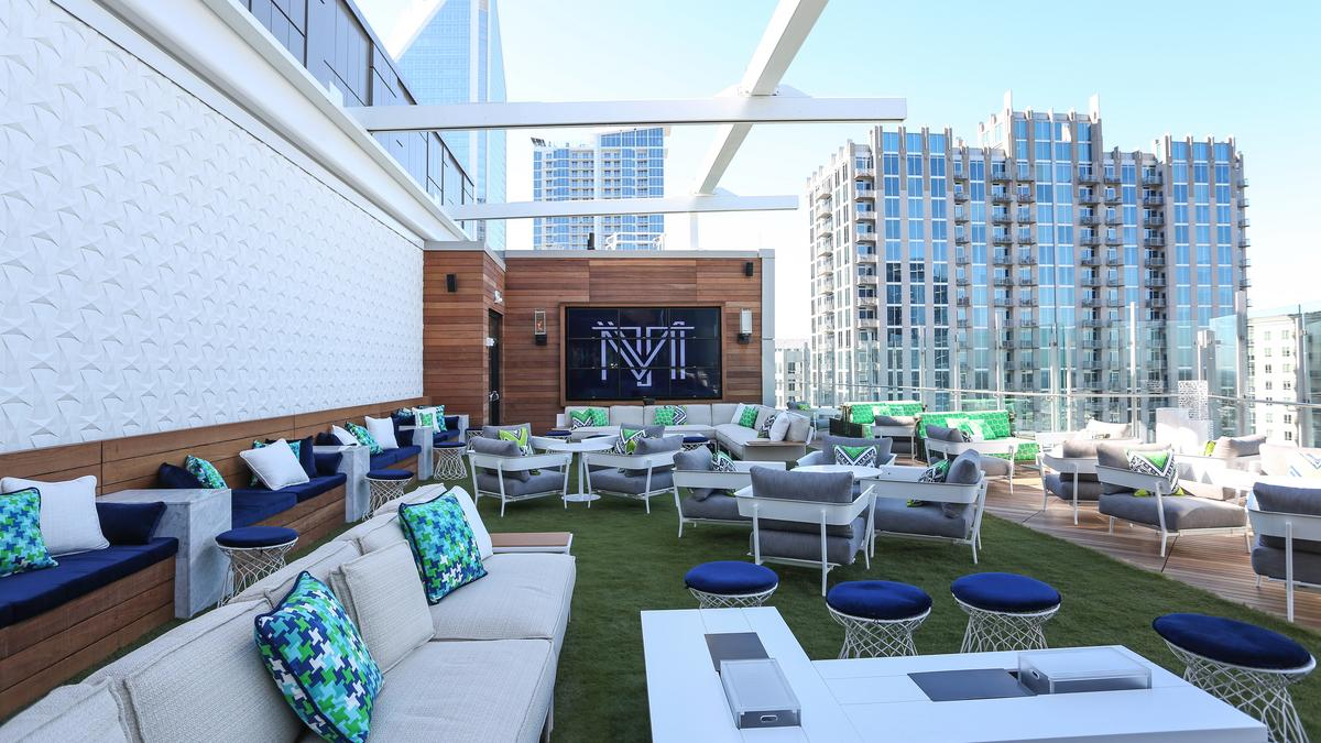 Sneak Peek Inside New Restaurant Rooftop Lounge Opening