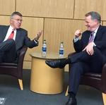 Former American Airlines CEO talks AAdvantage, consolidation — and why each olive counts