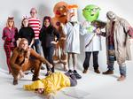 From emojis to dinosaurs—Halloween costumes take over area workplaces: Slideshow