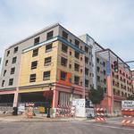Hyatt Place Hotel work in Niagara Falls progresses