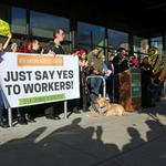 New Seasons employees continue push to unionize, file complaint against the company