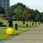Yellow, Target-like spheres approved for Memphis Riverfront