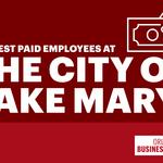 Public paychecks: Here are the city of Lake Mary's highest-paid employees