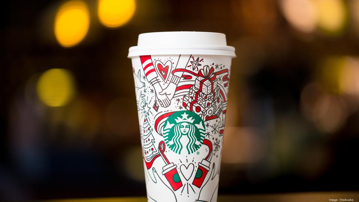 Starbucks Christmas Coffee Cups.Starbucks Holiday Coffee Cups Are Back But They Re Not Red