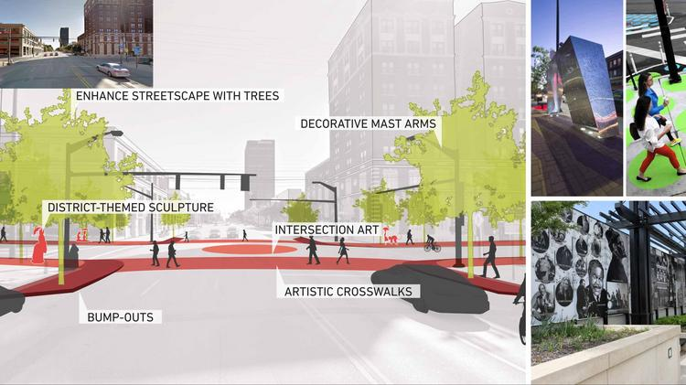 Columbus MKSK Received A Merit Award In Planning And Analysis For Its Discovery District Placemaking