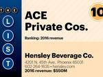 Here are our top ACE private companies