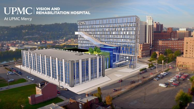 New UPMC Vision and Rehabilitation Hospital to total 410,000