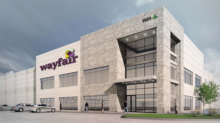 Big Distribution Hub For Wayfair Gets Underway In Dfw Dallas Business Journal