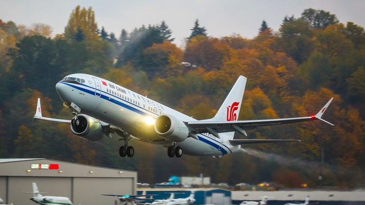 Comac flies third c919 test flight as boeing delivers first air air china took delivery of a 737 max 8 on nov 3 2017 publicscrutiny Images