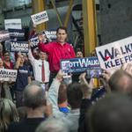 Gov. Walker officially announces re-election bid for third term at Weldall in Waukesha County