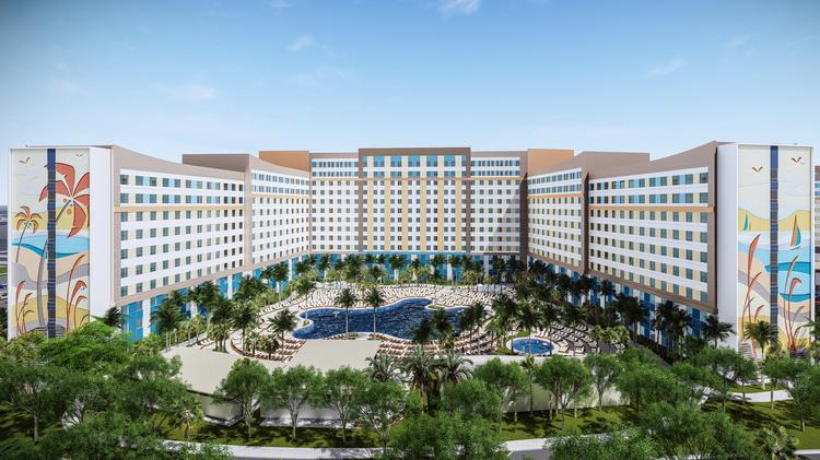 Renderings Of The Two New Hotels Coming To Universal S Portfolio