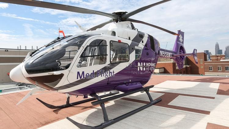 Novant Health Expands Reach With Air Transport Charlotte