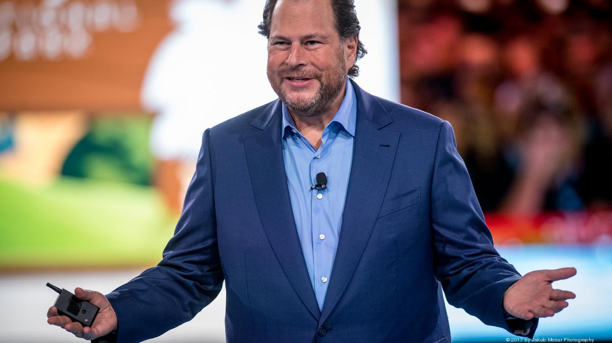 Salesforce CEO Marc Benioff will talk with Lesley Stahl of ...