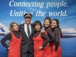 United Airlines 747 flies into the sunset — how it played out today