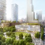 Brandywine, Drexel break ground on $3.5B Schuylkill Yards project