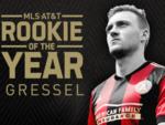 Atlanta United player Julian Gressel wins MLS Rookie of the Year