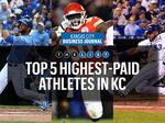 Top of the List: Highest-paid athletes in Kansas City