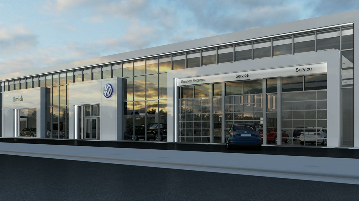 New Emich Vw Dealership Coming To Busy Denver Intersection
