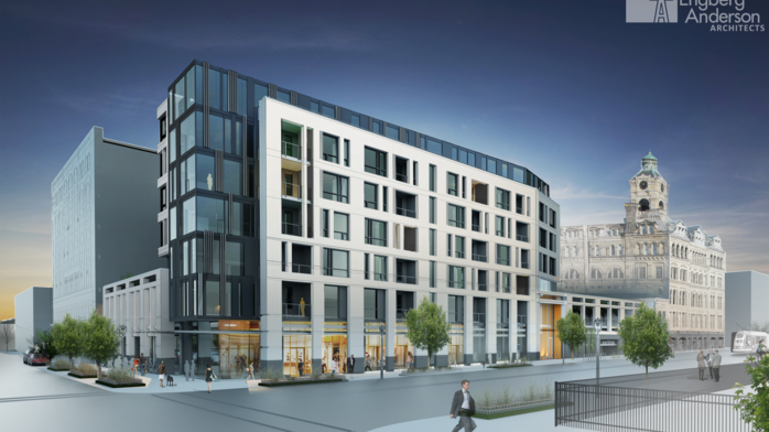North Broadway apartment building approved; Marquette campus project delayed