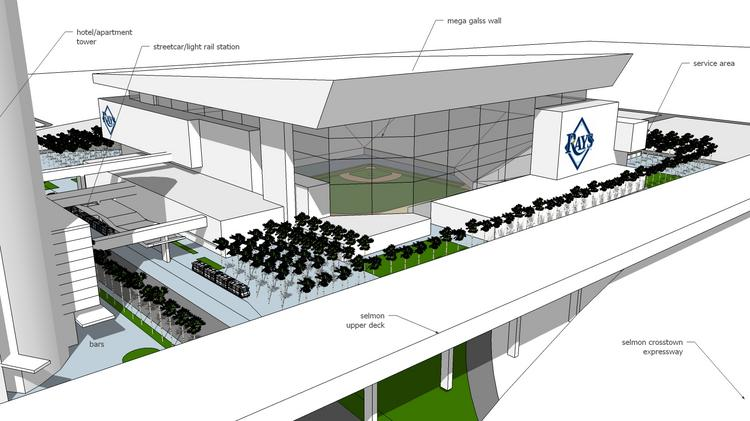 here s what an ybor city rays stadium could look like tampa bay business journal here s what an ybor city rays stadium