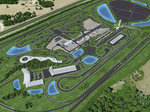 New images: Here's what the SunTrax test track for self-driving cars will look like