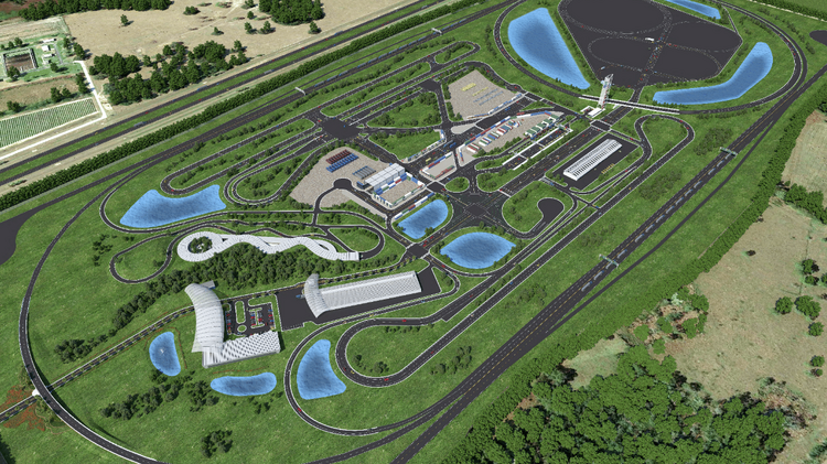 New Images Here S What The Suntrax Test Track For Self Driving Cars Will Look Like