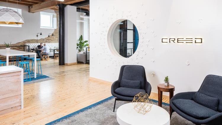 Attractive Cool Offices: Creed Interactive Designs Dream Aesthetic In St. Paul Space