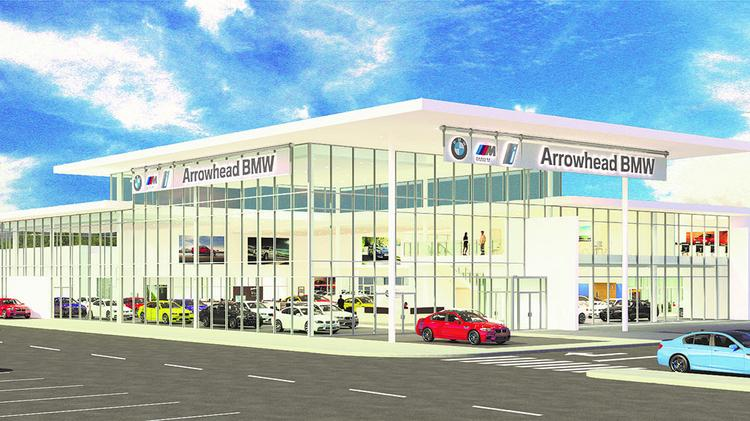 Arrowhead BMW dealership breaks ground in Glendale ...