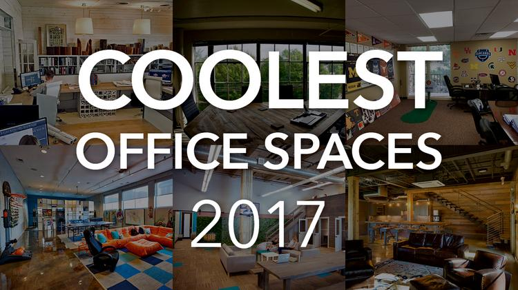 Gentil The BBJ Has Named The Finalists For Its Coolest Office Spaces Competition  In 2017. These