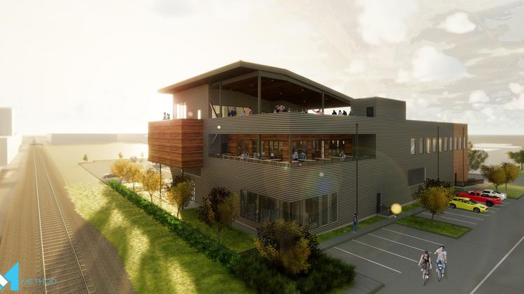 Rendering Of Buffalo Bayou Brewing Co S New Bar And Restaurant
