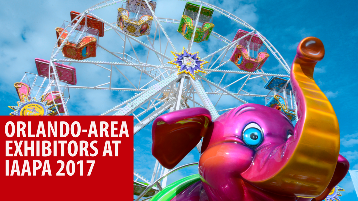Orlando's largest theme park trade show is in town this week
