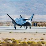 SNC Dream Chaser spaceship shown off in Colorado Springs after flight tests (PHOTOS)