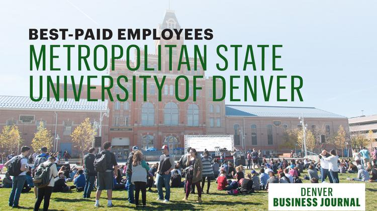 Colorado university salaries see who tops the pay list at colorado university salaries see who tops the pay list at msu denver malvernweather Gallery