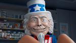 Creepy Uncle Sam ads are funny or desperate, depending on your point of view