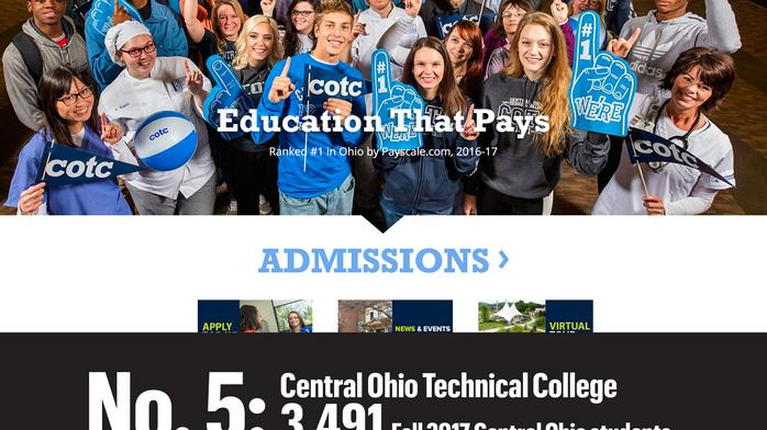 TOP OF THE LIST: Central Ohio's largest colleges and universities
