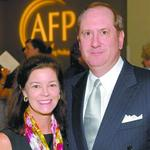 The William M. and Virginia B. <strong>Spencer</strong> Outstanding Philanthropist Award: Kathryn and Raymond Harbert