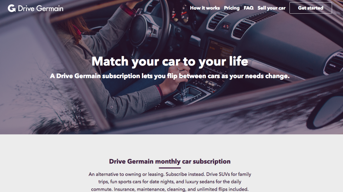 Germain Auto Group Launches Monthly Vehicle Subscription