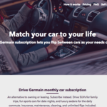 How <strong>Germain</strong> is shaking up car ownership with a subscription model