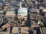 See the Milwaukee Bucks' arena project from the air as it nears full enclosure: Slideshow