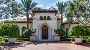 The mansion at 16191 Quiet Vista Circle in Delray Beach.