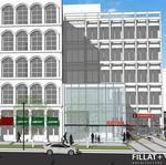 300 W. Pratt's plans for a retail 'bump out' move forward