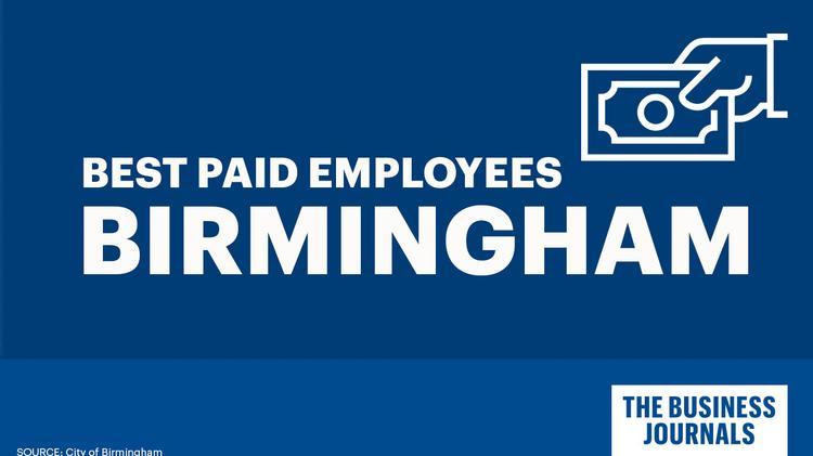 City Of Birmingham Employee Salaries Birmingham Business Journal