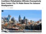Satire site The Onion says Philadelphia ready to raze CBD for Amazon HQ2