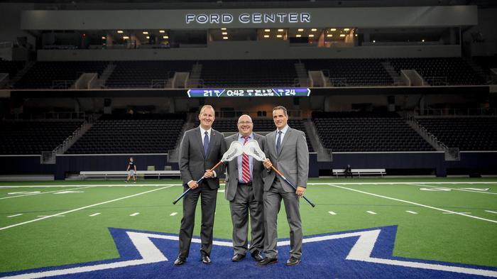 Major League Lacrosse team relocates to Dallas Cowboys' Star in Frisco
