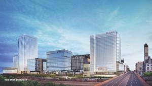 Exclusive: New look shows epic $1B Nashville Yards project balancing 'holy cow' with 'approachable'