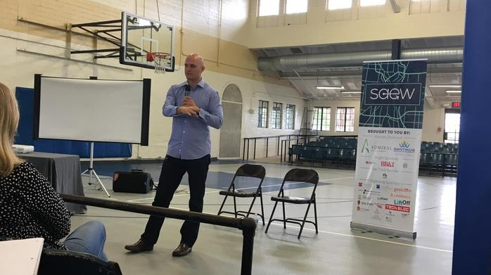 Local entrepreneur shares tips to flipping homes during SAEW event