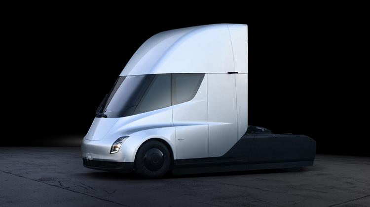 Tesla unveiled the world's first all-electric semi truck on Nov. 16.