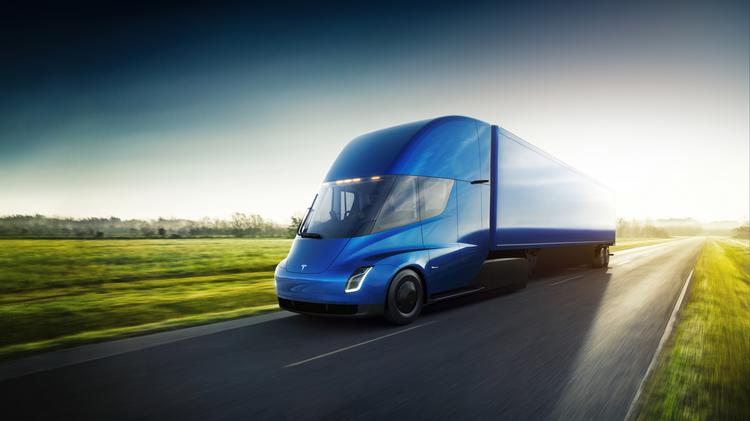 Tesla unveiled the world's first all-electric semi truck on Nov. 16. The truck has a range of 500 miles between charges.